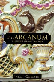 The arcanum by Janet Gleeson