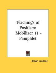 Teachings of Positism PDF