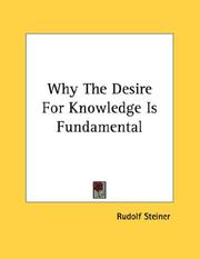 Why The Desire For Knowledge Is Fundamental PDF