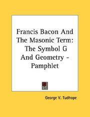 Francis Bacon And The Masonic Term PDF
