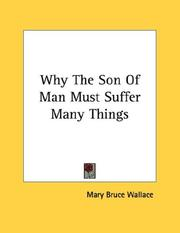 Why The Son Of Man Must Suffer Many Things PDF