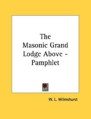 The Masonic Grand Lodge Above - Pamphlet PDF