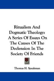 Ritualism And Dogmatic Theology PDF