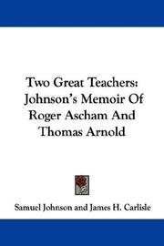 Two Great Teachers PDF