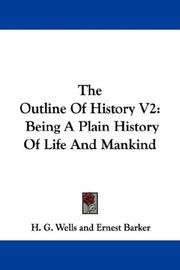 Cover of: The Outline Of History V2 by H. G. Wells