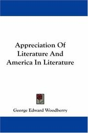 Appreciation Of Literature And America In Literature