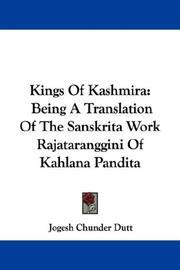 Kings Of Kashmira PDF