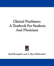 Clinical psychiatry PDF