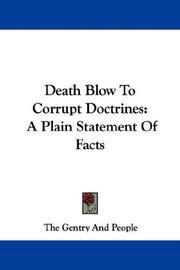 Death Blow To Corrupt Doctrines PDF