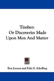 Timber PDF