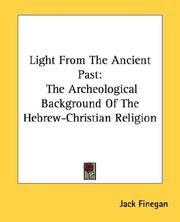 Light from the ancient past by Jack Finegan