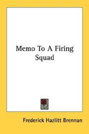 Memo to a firing squad PDF