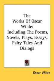 The works of Oscar Wilde by Oscar Wilde