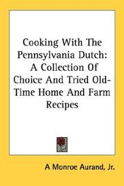 Cooking With The Pennsylvania Dutch PDF