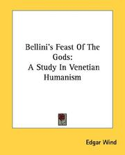 Bellini's Feast of the gods by Edgar Wind