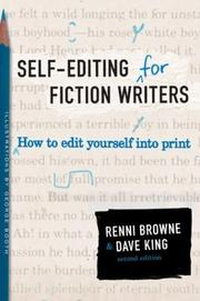 Self-editing for fiction writers PDF