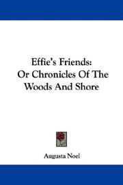 Effie's Friends PDF