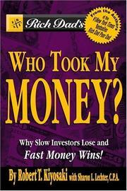 Rich Dad's Who Took My Money? PDF