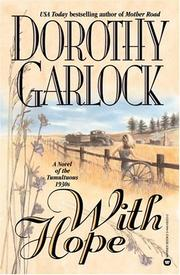 Cover of: With hope by Dorothy Garlock