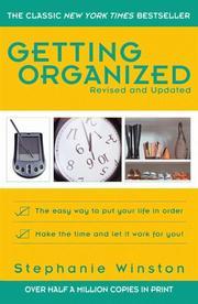 Getting Organized PDF