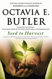 Cover of: Seed to Harvest by Octavia E. Butler