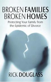 Broken Families Broken Homes PDF