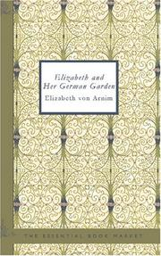 Elizabeth and Her German Garden PDF