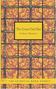 The Great God Pan PDF