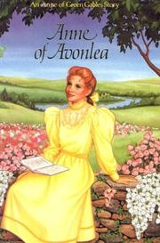 Cover of: Anne of Avonlea by L. M. Montgomery