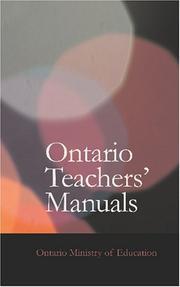 Ontario Teachers' Manuals PDF