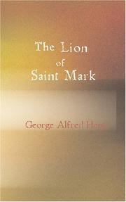The Lion of Saint Mark PDF