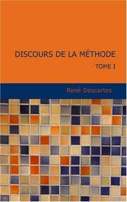 Cover of: Discours de la Méthode by René Descartes