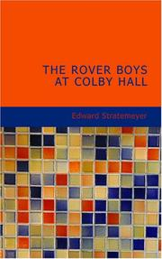 The Rover Boys at Colby Hall PDF