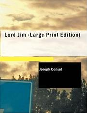 Cover of: Lord Jim (Large Print Edition) by Joseph Conrad