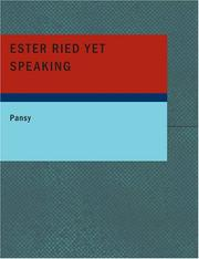 Ester Ried Yet Speaking PDF