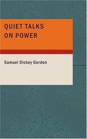 Quiet Talks on Power PDF