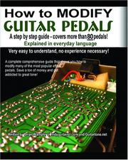 How to Modify Effect Pedals for guitar and bass PDF