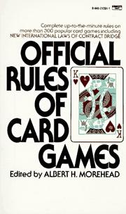 Official Rules of Card Games PDF
