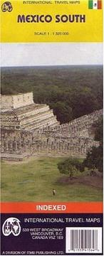 Mexico South Map PDF