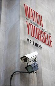 Cover of: Watch Yourself by Matt Hern