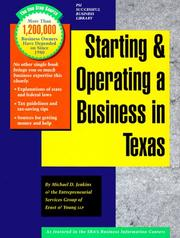 Starting and Operating a Business in Texas (Starting and Operating a Business In...) PDF