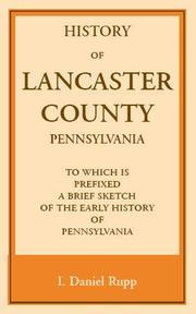 History of Lancaster County, Pennsylvania PDF