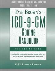 Faye Brown's Icd-9-Cm-Coding Handbook Without Answers PDF