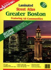 Greater Boston Atlas (Laminated) (Official Arrow Street Atlas) PDF