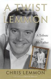 A twist of Lemmon by Chris Lemmon