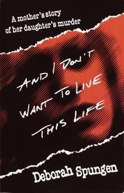 And I don't want to live this life PDF