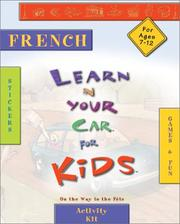 Liyc Kids French (Learn in Your Car Kids)