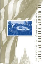 The Mormon Church on Trial PDF