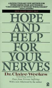 Hope and Help for Your Nerves PDF