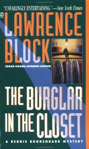 The Burglar in the Closet by Lawrence Block, Lawrence Block